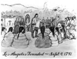 Historical sketch used in newspaper advertising Los Angeles founded 1781