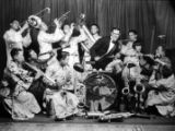 Chinese Band (Empire photo) Back Row: 2nd from left, Taft Leong 3rd from left, Peter Soo Hoo Sr....
