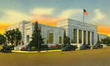 Hollywood Post Office, postcard