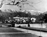 Scenic view of Toll Hall, Scripps College