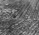 Aerial view looking north over Wilshire