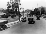 Highland Avenue, south of the Hollywood Bowl