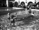 Pool fun at El Mirador Hotel, Palm Springs