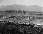 A day at the races, Santa Anita Racetrack