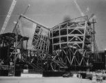 Construction of Walt Disney Concert Hall