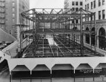 Pacific Mutual Building, Garage Building construction