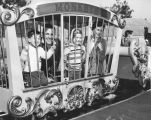 Shirley Temple and family visit Disneyland