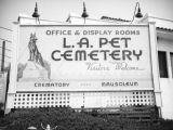 L.A. Pet Cemetery sign