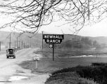 Newhall Ranch road sign