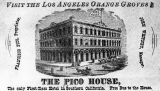 Advertisement for Pico House