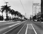 Hollywood Boulevard, east from Sycamore Avenue