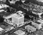 Aerial view of Cahuenga and Hollywood