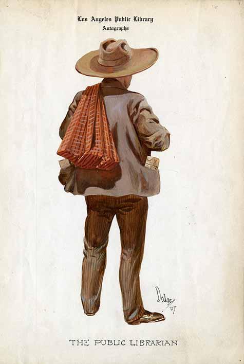 An unconventional portrait of Charles Fletcher Lummis by Richard Elwood  Dodge 1555462a5a1c