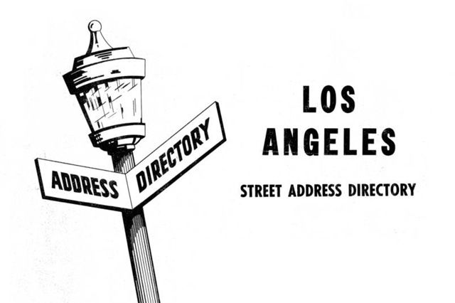 City and Street Directories