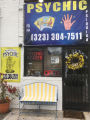 Facade of a psychic reading parlor