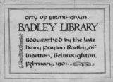 Badley Library.