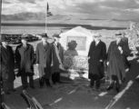 Crowley Lake dedication ceremonies