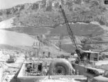 Construction of Power Plant below Pleasant Valley reservoir