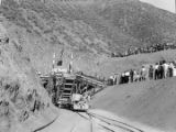 Colorado River Aqueduct main line completion ceremony west portal San Jacinto tunnel