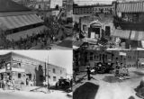 Christine Sterling Exhibition: 4a. Pre-paving work on the south end of the Olvera Street, photo...