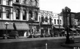 Photograph of the Merced Theater Main Street facade- reproduced from the Collections of the...