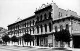 Merced Theater and Pico House together, front and side view, taken from intersection of Main...
