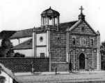 Drawing of Plaza Church on Main Street