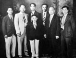 1931 Los Angeles delegates: (1st row) Howard Tom, Peter Soo Hoo, Henry Y. Yip, Layne Tom, Dr. S....