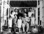 Family picture, 10 members. Y.H. Chung