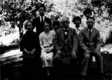 Y.H. Chung family picture, eight members
