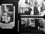 A: Mrs. Nellie Chong and children Art and Lillian- 1919 B: Family with Mr. Y.N. Chong- 1926 C:...