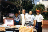 From left to right: Edith Jung, Elmo Gambarana. Tony Valdez, Robert Jung, Munson Kwok at the 212th...