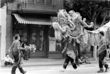 Los Angeles Chamber of Commerce: Golden Dragon Lunar New Year Parade, a scene in front of...