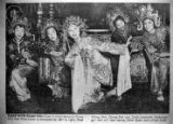 China City Moon Festival Dance, Rose Wong is first from left (newspaper clipping)