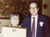 New Life Association's Spring Dinner at the Golden Dragon in Los Angeles. Lily Chan is pictured...