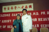 Lily Chan and Dr. Samuel Lin, the United States Assistant Secretary for Health of the Department...