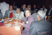 Eating at Mirawa Restaurant in Los Angeles, Lily Lum Chan, Mr. & Mrs. Lau Yew Kwong attend...