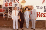 Stanley and Lily Chan's team to elect Ronald Reagan