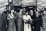 Grand Opening of the First Public Savings at 800 North Hill Street, Los Angeles, Chinatown.