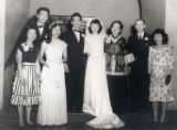 Wedding photo, from left to right are: Esther Louie, Andrew, Alice, Johnny, Katie, Ko Po Kwok...