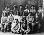 Mexican railroad workers in Los Angeles