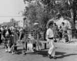 Annual Blessing of the Animals in Olvera Street and the old plaza