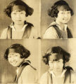 Four school portraits of Dorothy Siu