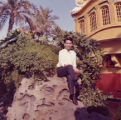 Show Fung Quan (Steve Mar's maternal grandfather) at Disneyland