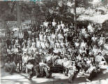 Group photo taken at Pilgrim Pines of Brotherhood Workshop, which promotes education and...