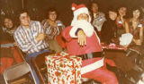 """Kellogg Chan's Christmas,"" Gerald Jann dressed as Santa Clause"