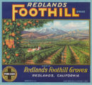 Redlands Foothill