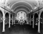 Interior of Cathedral of St. Vibiana, Los Angeles
