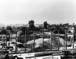 Harbor Freeway construction near Temple & Figueroa