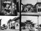 Chinatown in 1956, views 1-4